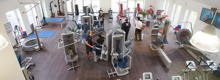 Trainingsangebote im Physiofit